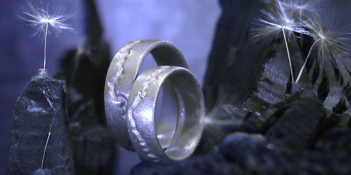3D-Elemente in Eheringe
