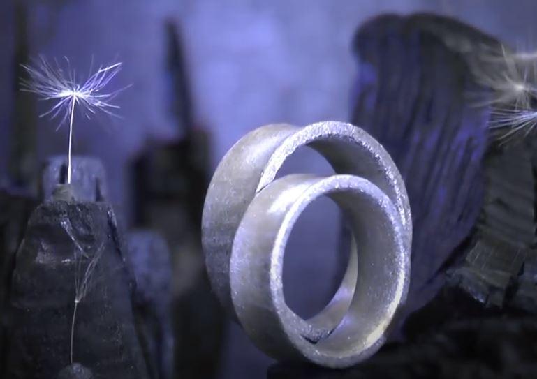 Konkave Ringe aus der Schweiz
